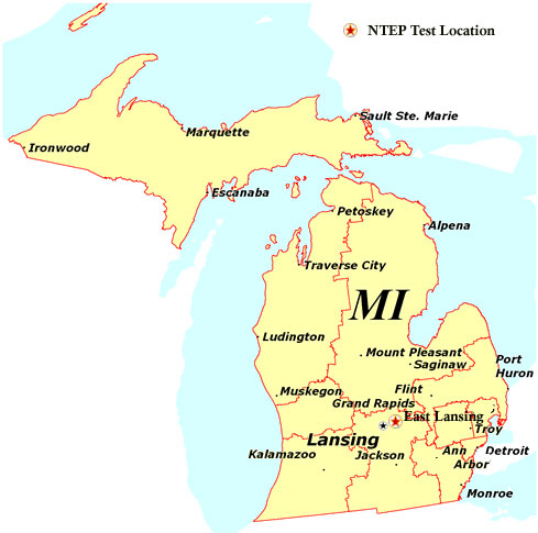 Map Of State Of Michigan Michigan Map - Map of the state of michigan